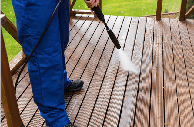 irving deck cleaning